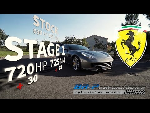 FERRARI GTC4 Lusso Remap Stage 1 by BR-Performance