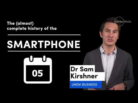 History of the smartphone