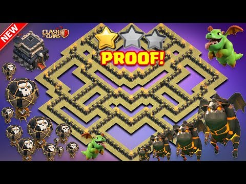 Th9 Town Hall 9 Anti 3 Star War Base Th11 Failed Replays Anti
