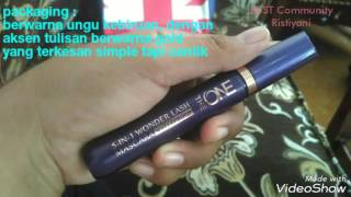 569369e0c8a Review testimoni the one 5-in-1 wonderlash waterproof mascara ...