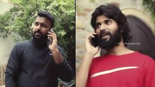 Vijay Devarakonda gives surprise to Tharun Bhascker..