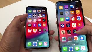 Hands-on video of the iPhone Xs and Xs Max