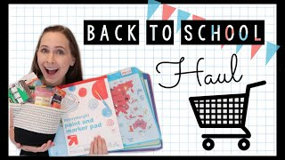 BACK TO SCHOOL HAUL 2019 | TARGET & AMAZON