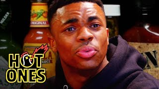 Vince Staples Delivers Hot Takes While Eating Spicy Wings | Hot Ones