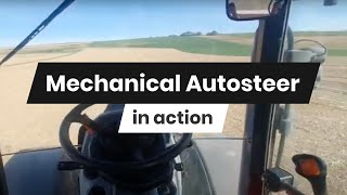 FieldBee Autosteer system in action