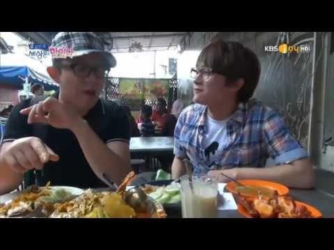 130406 Tony An in Malaysia - Nasi Kandar and Thaipusam