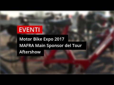 Mafra a Motor Bike Expo 2017 e Main Sponsor del Tour Mosquito's Way