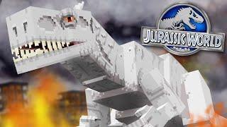 WE HAVE INDOMINUS REX!!! - Jurassic World Minecraft DLC   Ep3