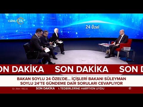 24 Özel / İçişleri Bakanı Süleyman Soylu – 06 05 2021