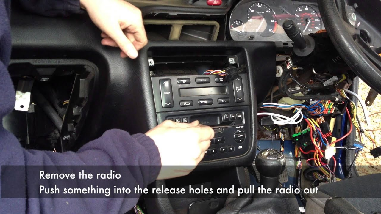 Full Dashboard Removal From A Peugeot 406 Youtube