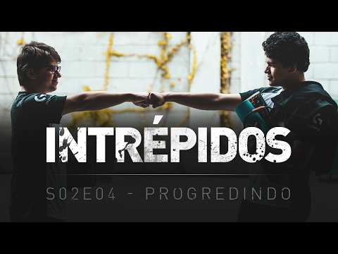INTRÉPIDOS - Progredindo   S02E04 INTZ x PAIN