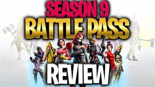 My Kids Reaction To The Season 9 Battle Pass!  (SEASON 9 BATTLE PASS REVIEW)