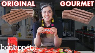 Pastry Chef Attempts To Make Gourmet Kit Kats | Gourmet Makes | Bon Appétit
