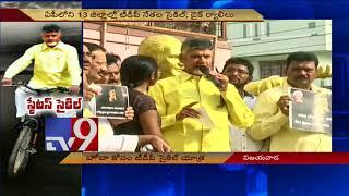 Don't hurt Telugu pride, Chandrababu warns PM Modi..