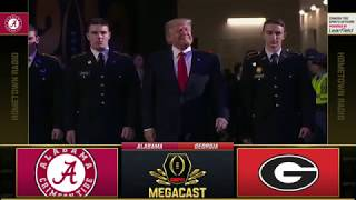 2017-18 CFP National Championship (Alabama radio broadcast) - #3 Alabama vs. #4 Georgia (HD)
