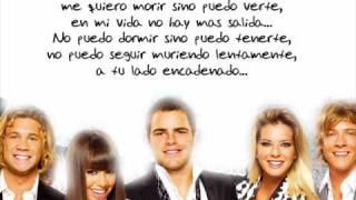 Miedo a Perderte teen angels + letra cuarta temporada 4 Casi Angeles