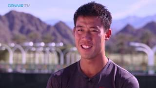 Kei Nishikori Eager To Kick Off Campaign