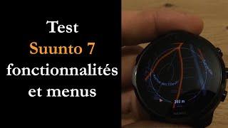 vidéo test Suunto 7 par Montre cardio GPS