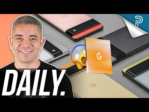 Meet the Google Pixel 6 and Tensor, High Galaxy Z Fold 3 prices & more!
