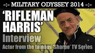 Rifleman Harris (Jason Salkey) Interview from the hit TV Series 'SHARPE' Military Odyssey 2014   HD