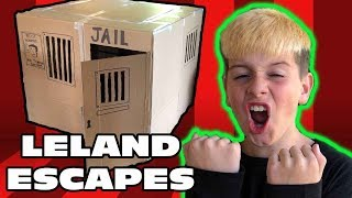 24 HOUR BOX FORT PRISON ESCAPE! 📦 🚔 Kid Temper Tantrum Goes to Jail