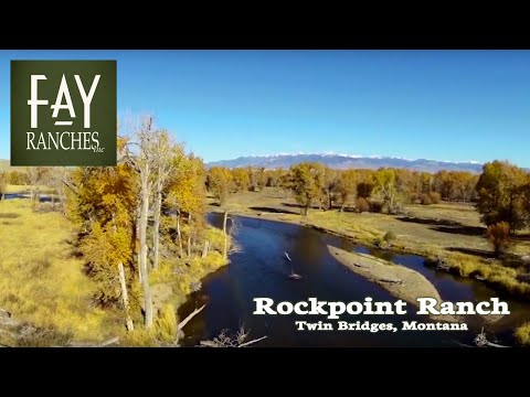 Rockpoint Ranch on the Big Hole River - Montana Ranches for Sale