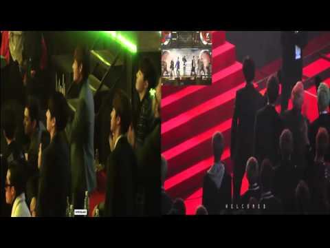 160217 BTS reaction to Big Bang ( Bae Bae, Bang Bang Bang, We like 2 party )