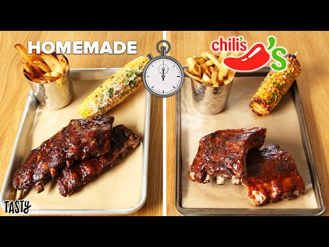 """Can I Make Chili's Baby Back Ribs Faster ThanDelivery"""" ? Tasty"""