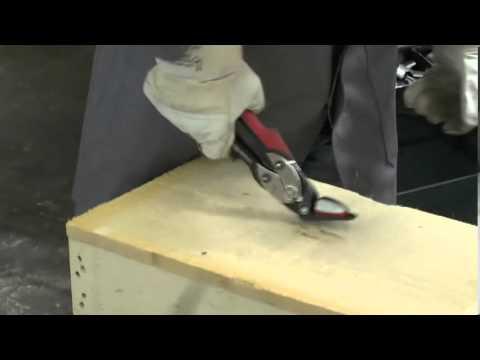 BESSEY   Tijera de seguridad para fleje metálico D123S