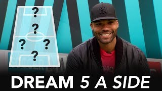 Which player tackled HARD at Man City? | Joleon Lescott's Dream 5-A-Side