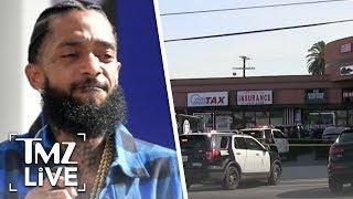 Nipsey Hussle Was Secretly Under Investigation for Alleged Gang Activity | TMZ Live