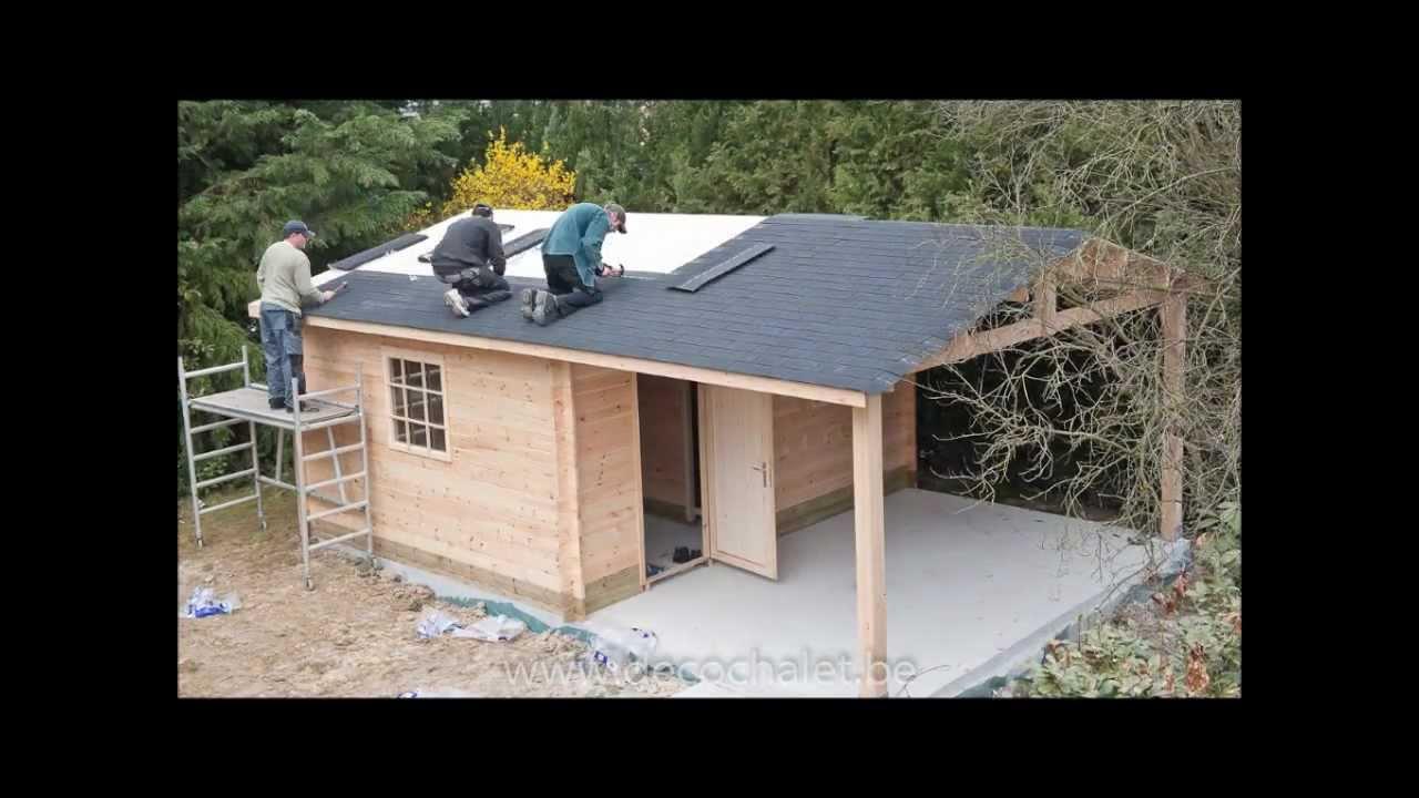 abri de jardin youtube. Black Bedroom Furniture Sets. Home Design Ideas