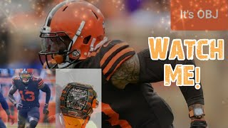 Odell Beckham Jr. wears $350,000 watch during game | OBJ gets warning from the league