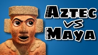 Aztec and Mayan are totally different languages. Sort of.