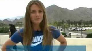 Daniela Hantuchova Interview IW 2008