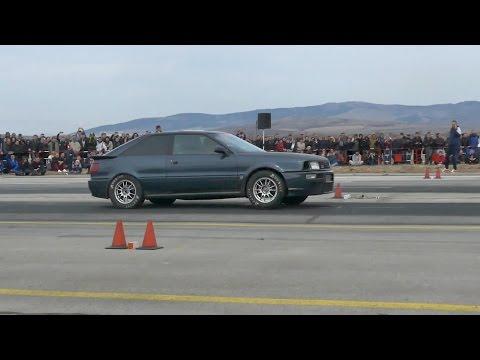 Audi S2 running 9.5 seconds @ 400m | Autokinisimag