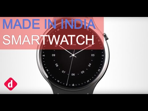 """Blink Smartwatch First Look """"Made In India""""   Digit.in"""