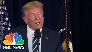 Trump Proposes Payroll Tax Break, Extension Of Unemployment Benefits | NBC News NOW