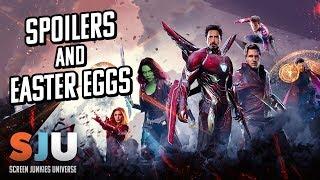Avengers Infinity War Easter Eggs & Spoiler Talk! - SJU