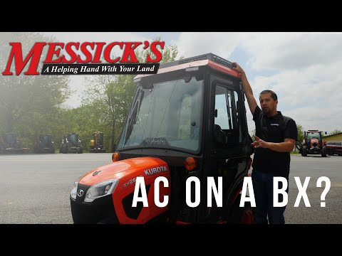 The MOST Luxurious Lawnmower! - Kubota BX with AC Picture