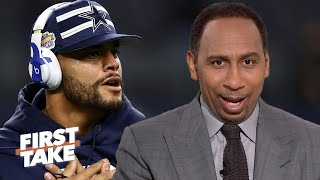 Mitchell Trubisky and the Bears will 'upset' the Cowboys! – Stephen A. | First Take