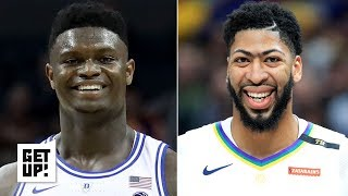 Charles Barkley: Zion and Anthony Davis will make the Pelicans 'pretty damn good' | Get Up!