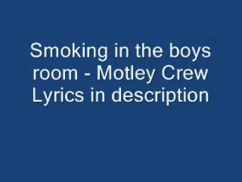Smokin' In The Boys Room