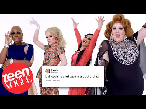 RuPaul's Drag Race Cast Competes in a Compliment Battle   Teen Vogue