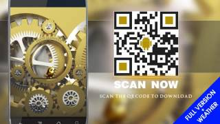 New Android Apps 2012 Android Gold Live Wallpaper Clock