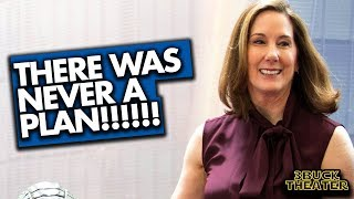 Kathleen Kennedy never had a plan for STAR WARS