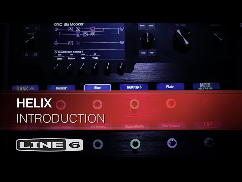 Line 6 Helix Rack Mount Unit Guitar Multi Effects Processor