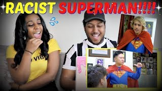 """Racist Superman"" By Rudy Mancuso, Alesso & King Bach REACTION!!"