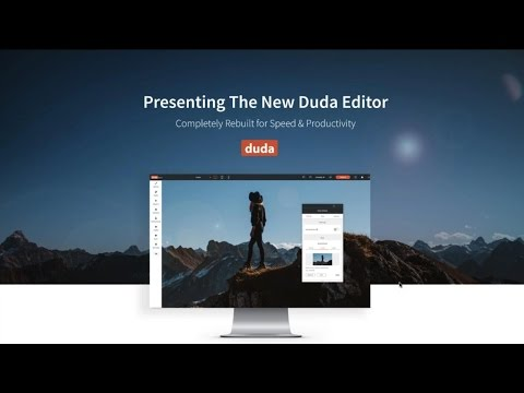 Introducing Duda's New Responsive Website Builder