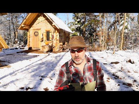 Log Cabin Sauna Ep 6   Wilderness Living